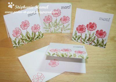 Par Stéphanie Hamel - Botanical blooms Merci 3x3